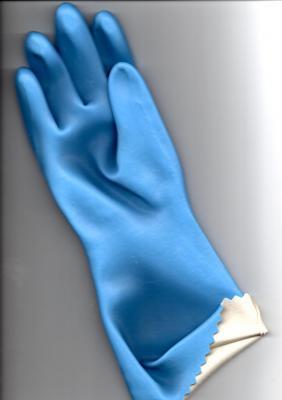 gant latex doublé coton LAT